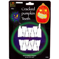 Cracked Pumpkin Teeth 14ct