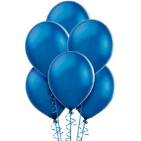 Royal Blue Pearl Balloons 100ct