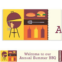 Sizzling Hot Barbecue Custom Banner 6ft