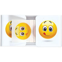 Smiley Face Flag Page Markers