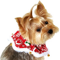 Christmas Bandana Dog Collar