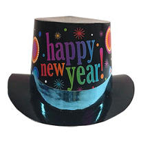 New Years Party Top Hat