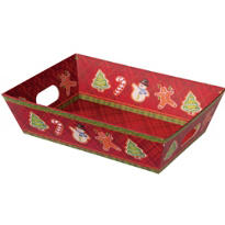 Medium Christmas Gift Tray 10in