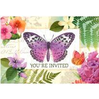Horizontal Peace and Serenity Invitations 8ct