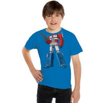 Child Optimus Prime Transformers T-Shirt