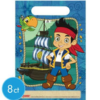 Jake and the Never Land Pirates Favor Bags 8ct