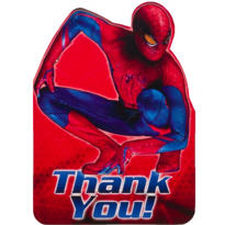 Spiderman Thank You Notes 8ct