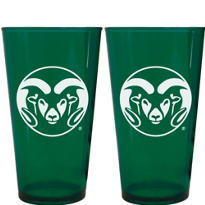 Colorado State Rams Pint Cups 2ct