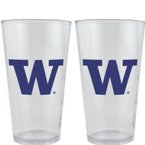 Washington Huskies Pint Cups 2ct
