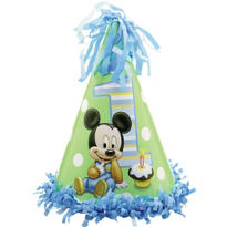 Mickey Mouse 1st Birthday Party Hat
