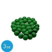 Festive Green Mini Gumballs 3oz