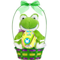 Premade Frog Easter Basket 11 1/2in