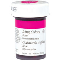 Rose Icing Color 1oz