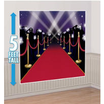 Red Carpet Backdrop 6ft