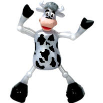 Chloe the Cow Windup Toy