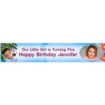 Dora the Explorer Custom Photo Banner 6ft