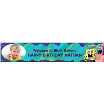 Sponge Bob Classic Custom Photo Banner 6ft