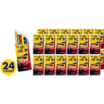 Cars Colored Pencils Packs 24ct