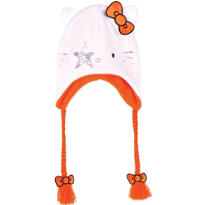 Hello Kitty Kiss Peruvian Hat