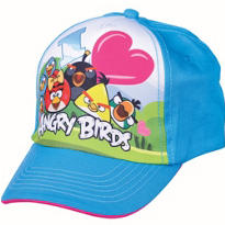 Child Blue Angry Birds Baseball Hat