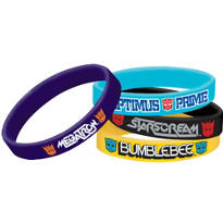 Transformers Wristbands 4ct