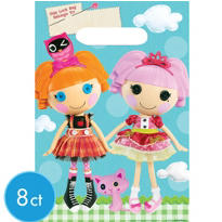 Lalaloopsy Favor Bags 8ct