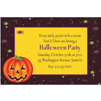 Perfect Pumpkin Custom Invitation