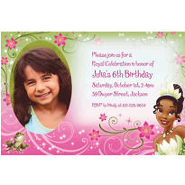 Tiana Custom Photo Invitation