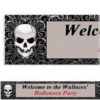 Fright Night Halloween Custom Banner