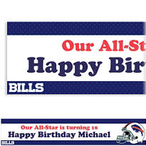 Buffalo Bills Custom Banner 6ft