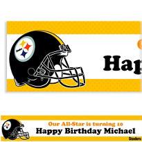 Pittsburgh Steelers Custom Banner 6ft