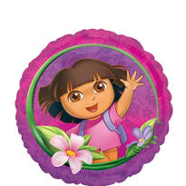 Foil Dora the Explorer Balloon 18in