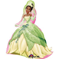 Foil Tiana Balloon 35in - Princess and the Frog