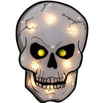 Light-Up Shimmer Skull