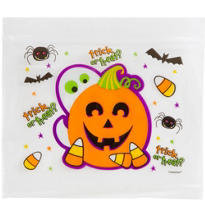 Ziplock Cute Halloween Treat Bag 30ct