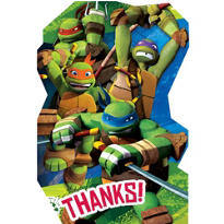 Teenage Mutant Ninja Turtles Thank You Notes 8ct