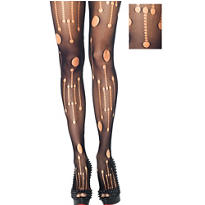 Adult Micro Net Punk Rock Pantyhose
