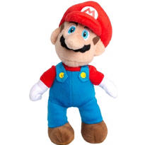 Clip-On Super Mario Plush