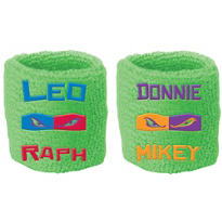 Teenage Mutant Ninja Turtles Sweat Bands 2ct