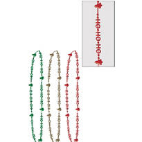 HoHoHo Bead Necklaces 3ct