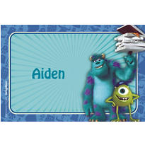 Monsters University Custom Thank You Note