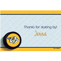 Nashville Predators Custom Thank You Note