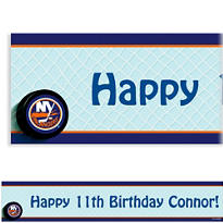 New York Islanders Custom Banner