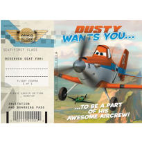 Planes Invitations & Thank You Notes for 8