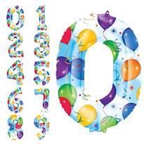 Number 0 Balloon - Celebration
