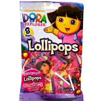 Dora the Explorer Lollipops 8ct