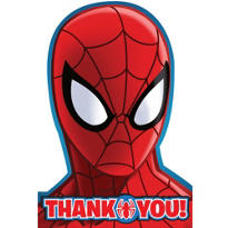 Spider-Man Thank You Notes 8ct