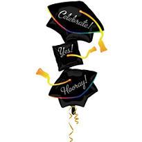 Grad Cap Stacker Graduation Balloon