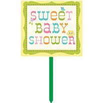 Happi Tree Baby Shower Yard Sign
