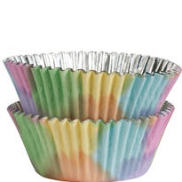 Watercolor Baking Cups 36ct